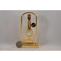 Raro Bulova Collectible Mini Relógio Tone Ouro 18k Invicta