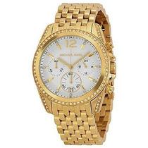 Relógio Michael Kors Mk5835 Dourado Midsize Frete Grátis