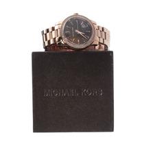 Relógio De Luxo Michael Kors Mk5494 Chronograph Anal Ororosé