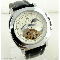 Relógio Goer Esqueleto Automático- Skeleton.