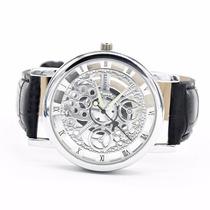 Relógio Esqueleto Rovite Importado Barato Masculino
