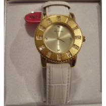 Relógio De Pulso Feminino Mondaine C/ Strass - 60% Off!