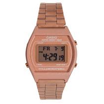 Relógio Casio Feminino Rose Digital B640wc-5adf Luz Data