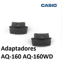Adaptadores Casio Aq-160 Para Pulseira Metal Aq-160wd Aq160