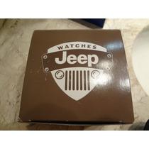 Caixa De Relógio Original Jeep - Oportunidade