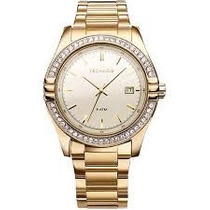 Relógio Technos Feminino Dourado 2315hr/4x De 469,00 Por 399