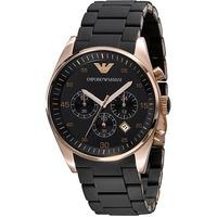 Relógio Emporio Armani Ar5905 Preto Rose Lindo Frete Grátis.