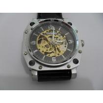 Relógio Goer - Esqueleto - Automático - Skeleton.