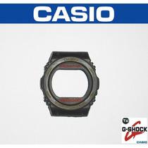 Capa/bezel G-shock Casio Dw-5700 Borracha Preta Raridade