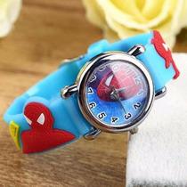 Relógio Do Homem Aranha Spiderman Para Criança 3d