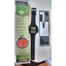 Casio Cmd 40 D Controle Remoto Impecável Caixa E Manual