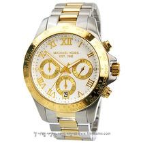 Relógio De Luxo Michael Kors Mk5455 Chronograph & Analógico!