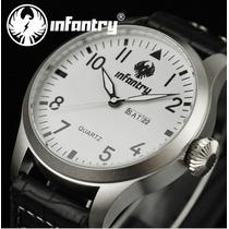 Relógio Quartz Infantry - Pilot
