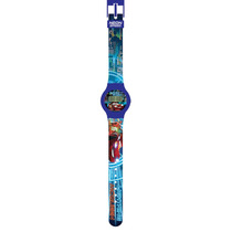 Relógio Digital Pulseira Azul Carros - Intek