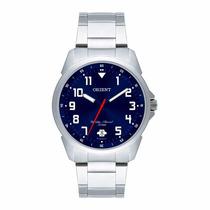 Relógio Orient Masculino Aço Calendário Wr 50m Mbss1154a D2s