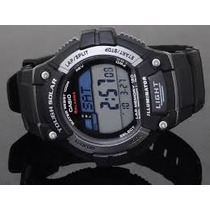 Relógio Casio W-s220-1av Esportivo Energia Solar Multifunção