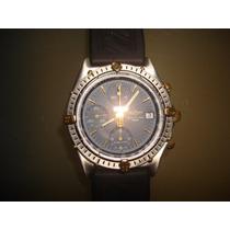 Breitling Cronomat Aço E Ouro