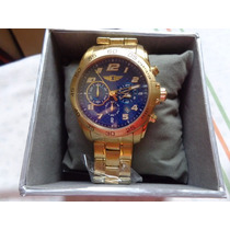 Invicta Masc. 90187-003 Gold-plated Stainless-100% Original