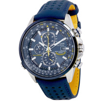 Citizen Eco Drive Blue Angels Chronograph At8020-0 Relógio