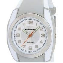 Relógio Mormaii Da Technos Zt/8k Branco/cinza/prata- Oferta!