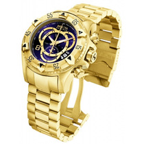 Relógio Invicta 6469 Excursion Reserve Dourado Caixa/manual