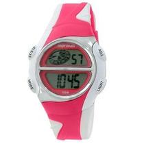 Relógio Digital Mormaii Action M675aa/8q Branco/rosa