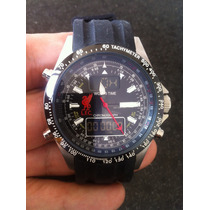 Lindo Sekonda World Time Que Lembra O Breitling Emergency