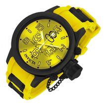Invicta 11884 Amarelo 52 Russian Diver Tenho Reserve Subaqua