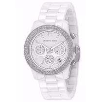 Relógio Michael Kors Mk5188 Cerâmica Original Garantia 1 Ano
