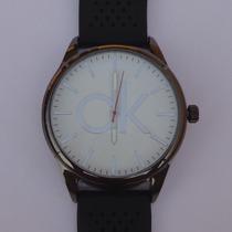 Relógio Masculino Calvin Klein Pulseira De Silicone