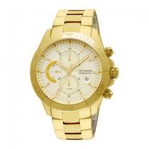 Relógio Technos Js15al/4x - Dourado Cronógrafo 12x Sem Juros