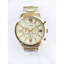 Relógio Fossil Bq1128 Cronograph Coleção Limitada 2016 Origi