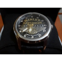 Relogio Bulova Harley Davidson 110 Anos Feminino