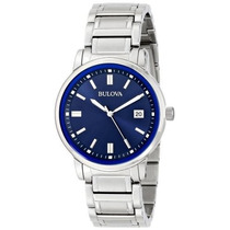 Relógio Bulova Slim 96b160 Classico Highbridge 12x Sem Juros