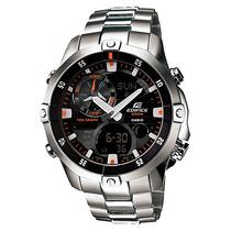Relógio Casio Náutica Ema-100d Preto Aço Ema-100 Ema100