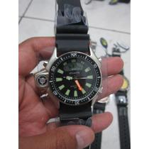 Relógio Atlantis Não Aqualand Citizen Ouro E Prata Jp2004