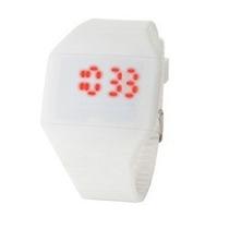 Relógio Digital Led Branco Preço Exclusivo Aproveite Rápido