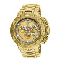 Relógio Invicta Subaqua Noma 5 V 15919 Ouro 18k Grande! 50mm