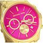 Relogio Michael Kors Feminino Mk 5909 Pink Original Garantia