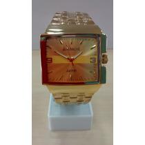 Relógio Original Avalnche Em Aço A Prova Dagua