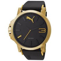 Relógio Puma Ultrasize Dourado **frete Gratis** Novo