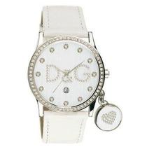 Relogio Dolce & Gabbana Branco Gloria Dw0091