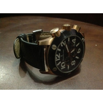 Relógio Jean Vernier Masculino Enorme - Espetacular