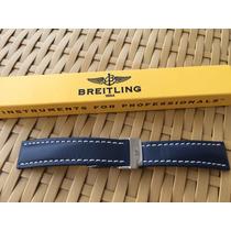Pulseira Breitling Deployant Blue - 112x - Original