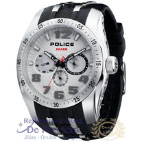 Relógio Police - 12087js/04 - Topgear - Rubber Strap