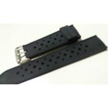 Pulseira Silicone Relógios 22mm Tommy Armani Dz Invicta Tag
