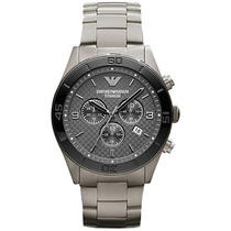 Relógio Empório Armani Ar9502 Titanium Original Com Garantia