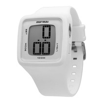 Relógio Unissex Mormaii Action Digital Mo9828b - Branco