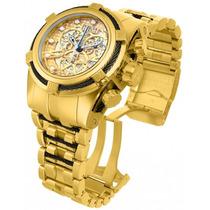 Relógio Invicta 12903 Bolt Reserve Skeleton Caixa E Manual.