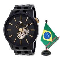 Relógio Rip Curl Detroit Automatic Midnight Preto Dourado